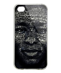 Mos Def - iPhone 4/4S Carcasa Alba/Transparenta Plastic