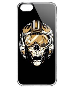 Born to be Wild - iPhone 5/5S/SE Carcasa Transparenta Silicon