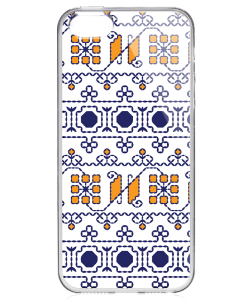 Frail Motif - iPhone 5/5S/SE Carcasa Transparenta Silicon