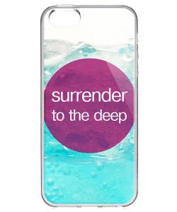Deep - iPhone 5/5S Carcasa Transparenta Silicon
