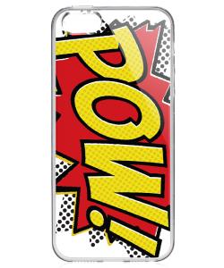 Pow - iPhone 5/5S/SE Carcasa Transparenta Silicon