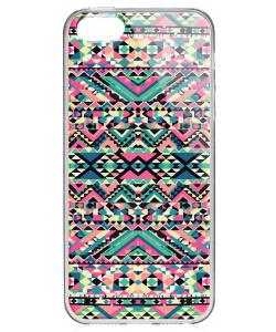 Color Blend - iPhone 5/5S/SE Carcasa Transparenta Silicon