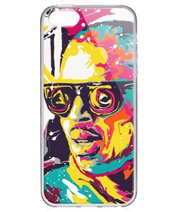 Ionut Nechifor - Chris Brown - iPhone 5/5S/SE Carcasa Transparenta Silicon