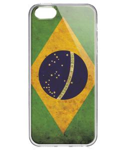 Brazilia - iPhone 5/5S/SE Carcasa Transparenta Silicon