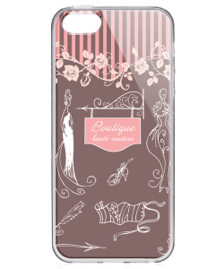 Boutique - iPhone 5/5S/SE Carcasa Transparenta Silicon