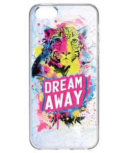 Dream Away - iPhone 5/5S/SE Carcasa Transparenta Silicon