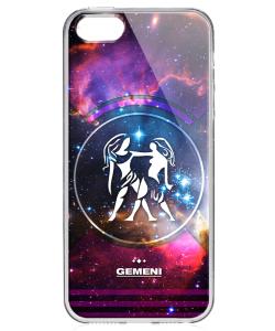 Gemeni - Universal - iPhone 5/5S/SE Carcasa Transparenta Silicon