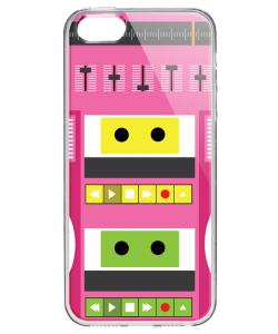 Boombox - iPhone 5/5S Carcasa Transparenta Plastic
