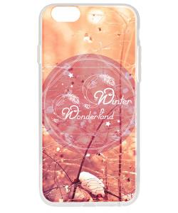 Winter Wonderland - iPhone 6 Carcasa Transparenta Silicon