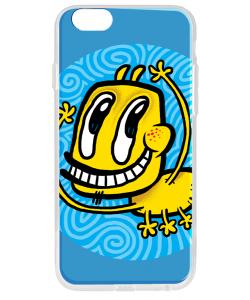Pisica Patrata - pp13 - iPhone 6 Carcasa Transparenta Silicon