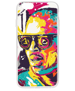 Ionut Nechifor - Chris Brown - iPhone 6 Carcasa Transparenta Silicon