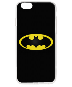 Batman Logo - iPhone 6 Plus Carcasa Transparenta Silicon