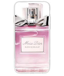 Miss Dior Perfume - iPhone 6 Plus Carcasa Transparenta Silicon