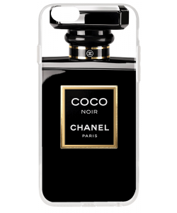 Coco Noir Perfume - iPhone 6 Plus Carcasa Transparenta Silicon