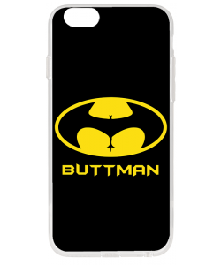 Buttman - iPhone 6 Plus Carcasa Transparenta Silicon
