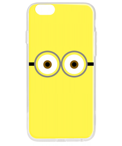 Minion Eyes - iPhone 6 Plus Carcasa Plastic Premium