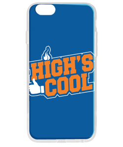 High's Cool - iPhone 6 Plus Carcasa Transparenta Silicon