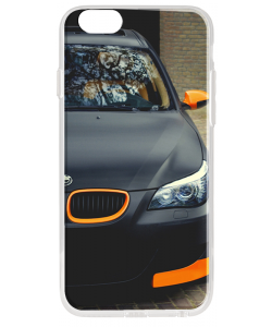 BMW - iPhone 6 Plus Carcasa Transparenta Silicon