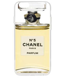 Chanel No. 5 Perfume - iPhone 6 Plus Carcasa Transparenta Silicon