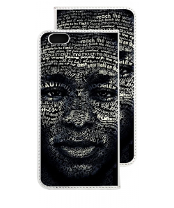Mos Def - iPhone 6 Husa Book Alba Piele Eco
