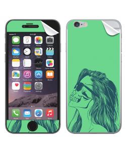 Skull Girl - iPhone 6 Skin