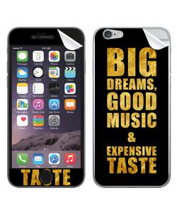 Good Music Black - iPhone 6 Skin