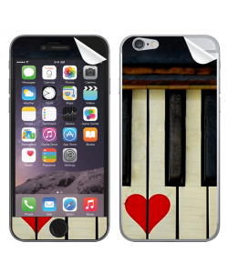 Piano Love - iPhone 6 Skin