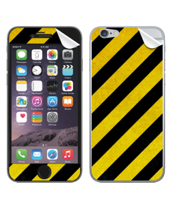 Caution - iPhone 6 Plus Skin