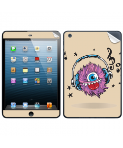 Fluffy Headphones - Apple iPad Mini Skin