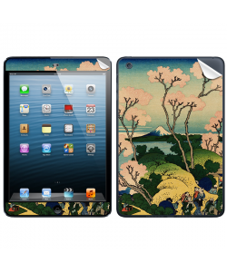 Hokusai - The Fuji from Gotenyama at Shinagawa on the Tokaido - Apple iPod Mini Skin