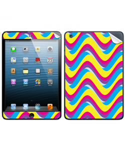 CMYK Waves - Apple iPad Mini Skin