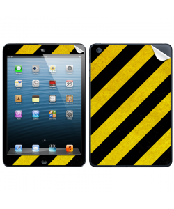 Caution - Apple iPad Mini Skin