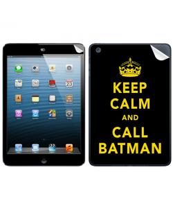Keep Calm and Call Batman - Apple iPad Mini Skin