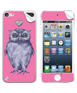 I Love Owls - Apple iPod Touch 5th Gen Skin