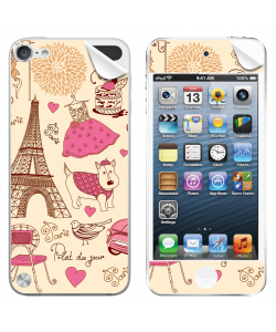 France - Apple iPod Touch 5th Gen Skin