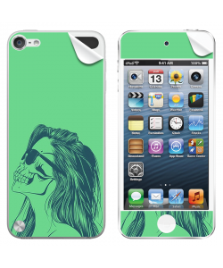 Skull Girl - Apple iPod Touch 5th Gen Skin