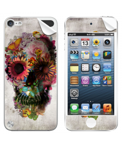 Spring skull - Apple iPod Touch 5th Gen Skin