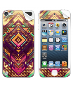 Abstract Diamond - Apple iPod Touch 5th Gen Skin