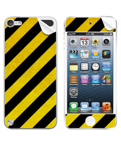 Caution - Apple iPod Touch 5th Gen Skin