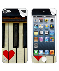 Piano Love - Apple iPod Touch 5th Gen Skin