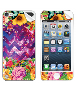 Universal Flowers - Apple iPod Touch 5th Gen Skin