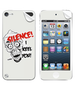 Silence I Keel You - Apple iPod Touch 5th Gen Skin