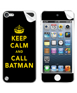 Keep Calm and Call Batman - Apple iPod Touch 5th Gen Skin