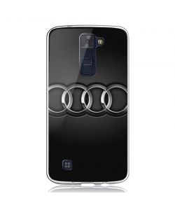Audi - LG K8 Carcasa Transparenta Silicon