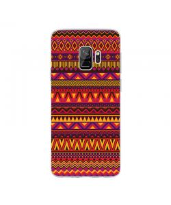 Aztec Summer - Samsung Galaxy S9 Carcasa Transparenta Silicon