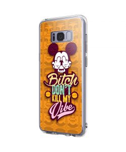 Bitch Don't Kill My Vibe - Obey - Samsung Galaxy S8 Plus Carcasa Premium Silicon