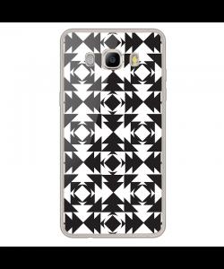 Black or White - Samsung Galaxy J7 Carcasa Silicon Transparent