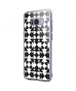 Black or White - Samsung Galaxy S8 Carcasa Premium Silicon