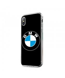 The BMW - iPhone X Carcasa Transparenta Silicon