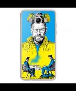 Breaking Bad III - Samsung Galaxy J7 2017 Carcasa Transparenta Silicon